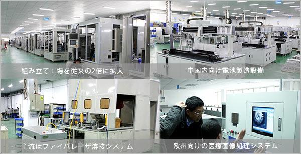 レーザー溶接システム製造