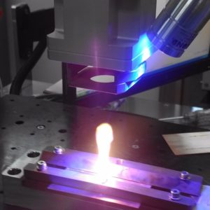 高反射材の溶接