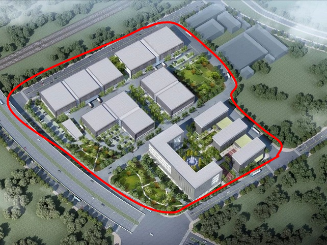 新工場敷地