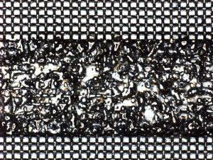 SUSメッシュとAl板の溶接